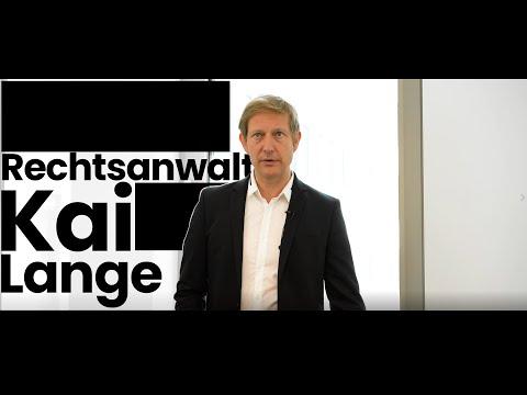 Fachanwalt Kai Lange Imagefilm